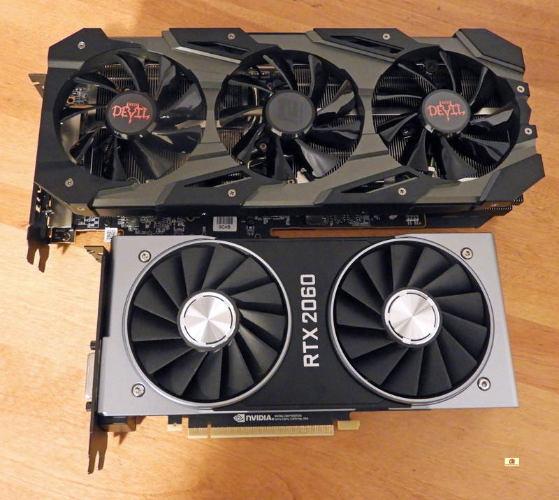 VR Wars: The RTX 2060 Founders Edition vs  the Red Devil RX 5700
