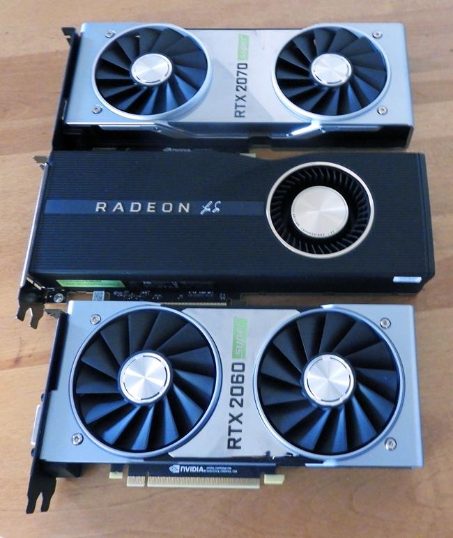 The RTX 2060 Super vs  the RX 5700 XT vs  the RTX 2070 Super