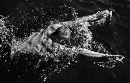 Model swimming