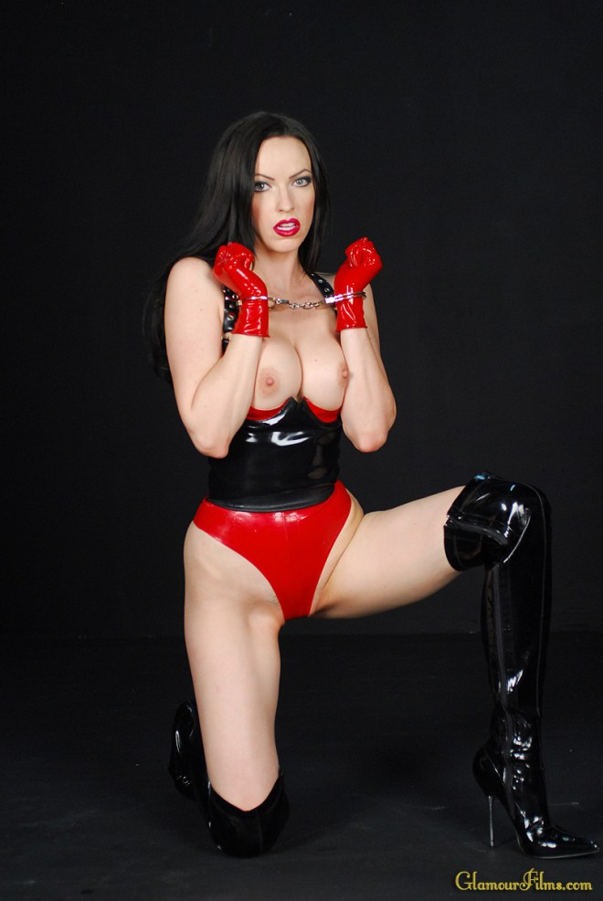 Emily Marily in Capivating Latex