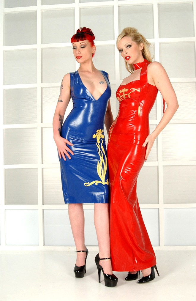 Emily and Miss Conduct Latex Dolls