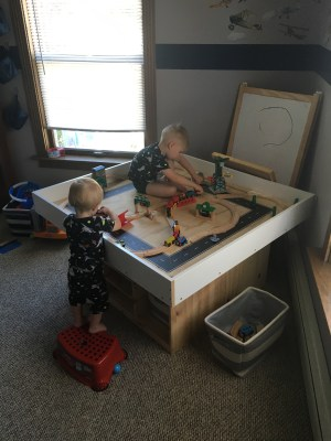greyson and henley playing