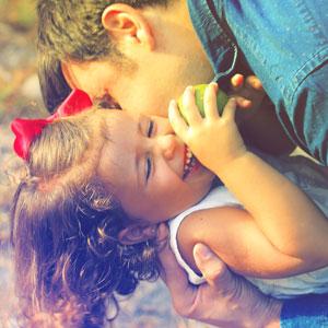 Father and daughter having fun - B.A.B.E.S. Respite Care Services