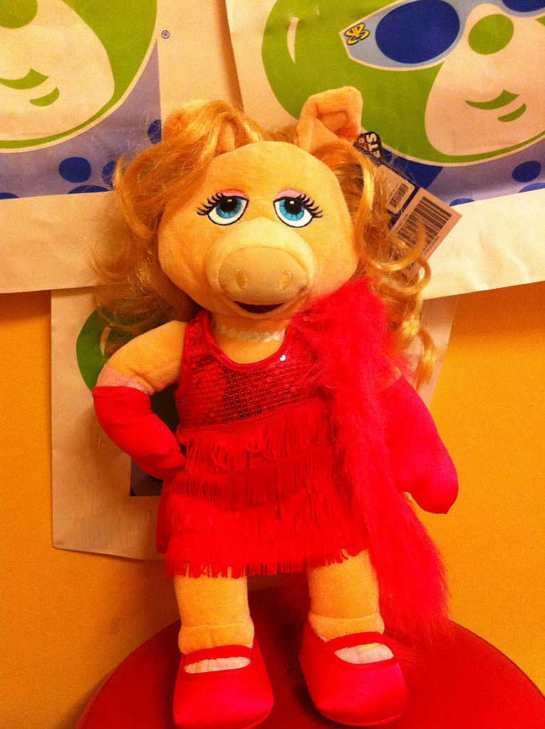 Build A Bear Kermit And Miss Piggy