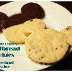 Disney at Home: Disneyland's Chocolate Dipped Shortbread Cookie Recipe