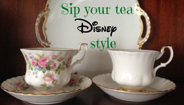Sip your tea Disney style