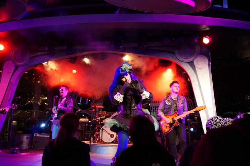 Tomasina band at Tomorrowland Terrace