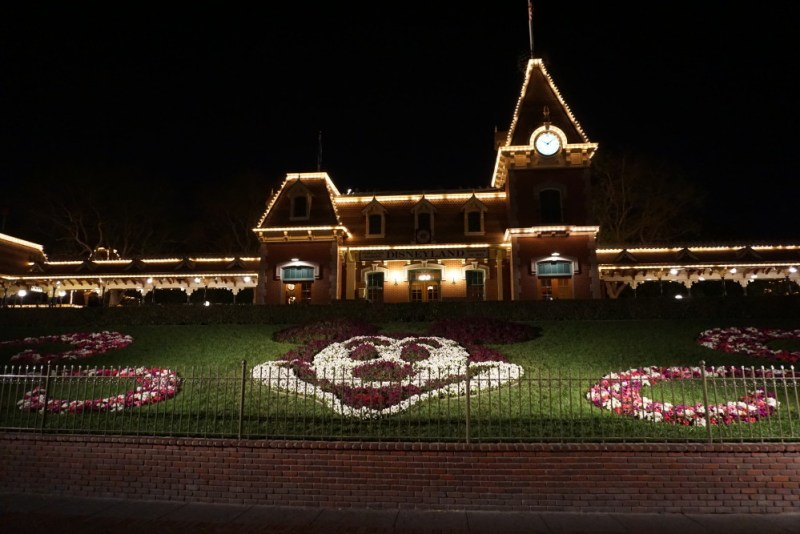 Disneyland Mickey flowerbed