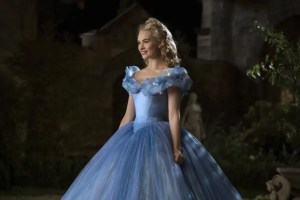Cinderella's ball gown and how it was developed.