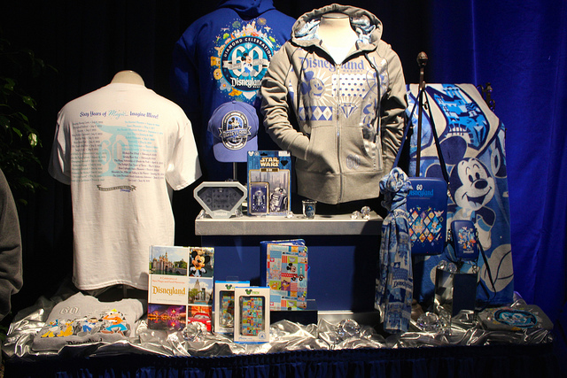Disneyland Diamond Celebration merchandise