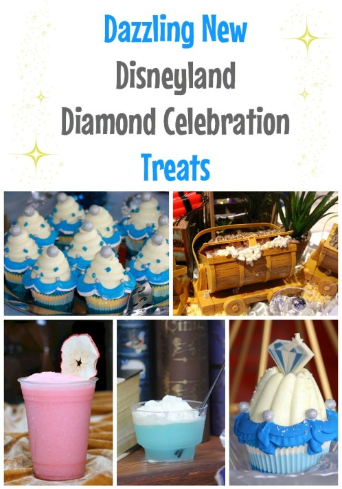 Dazzling New Disneyland Diamond Celebration Treats