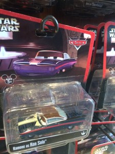 Star Wars/Cars  Ramone/Han