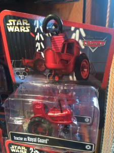 Star Wars/Cars  Tractor/Guard