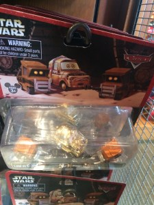 Star Wars/Cars  Luigi/C3PO
