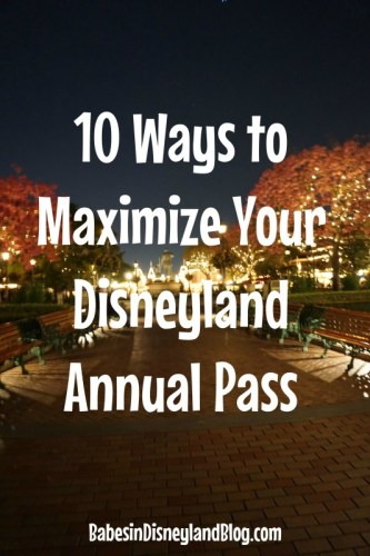10 Ways to Maximize Your Annual Pass