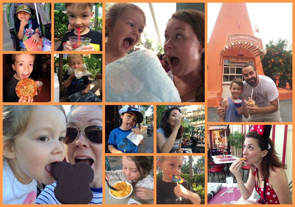 Things parents do at Disneyland that they don't do in real life - like eat whatever they want