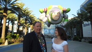 John Lasseter at the Disney D23 Expo 2015