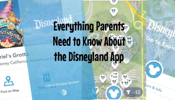 Everything parents need to know about the Disneyland app