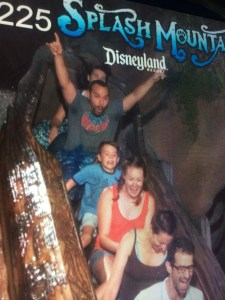 Splash Mountain After Dark