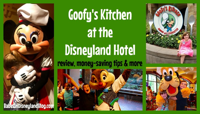 Character Dining Review Goofy S Kitchen Babes In Disneyland