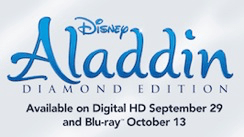 Aladdin available on home video