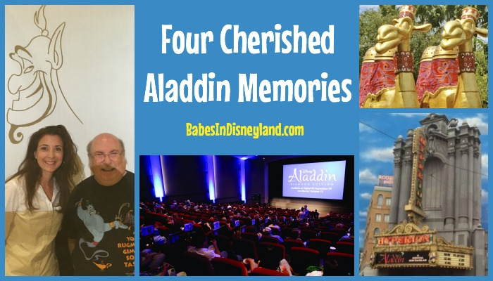 Four Cherished Aladdin Memories
