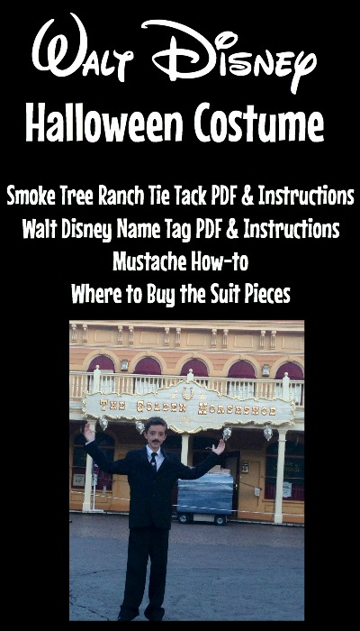 Walt Disney Halloween Costume - Everything You Need