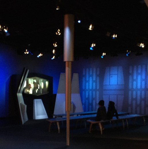 First look at Star Wars Launch Bay.