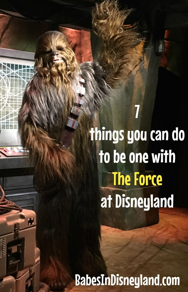 Seven things you can do to be one with The Force at Disneyland