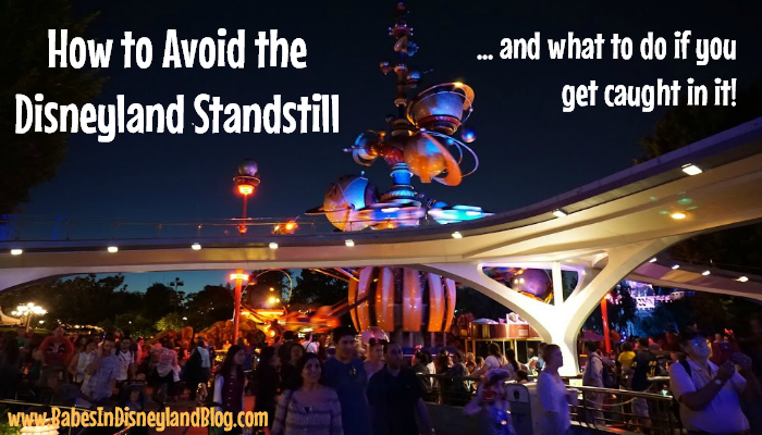 How to Avoid the Disneyland Standstill! (…and what to do if you get caught in it!)