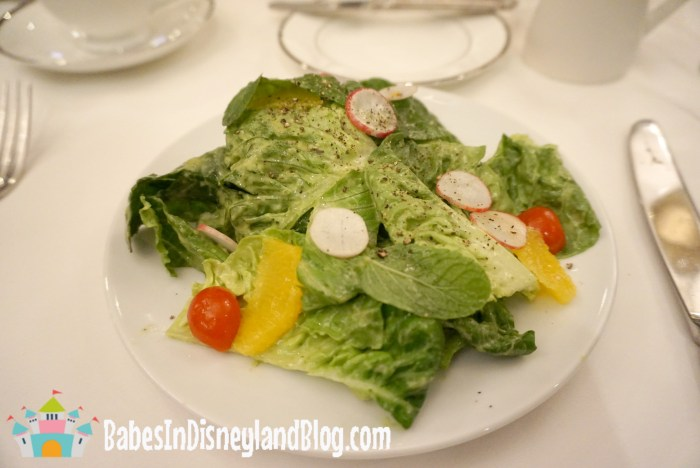 Classic Afternoon tea - Disney salad