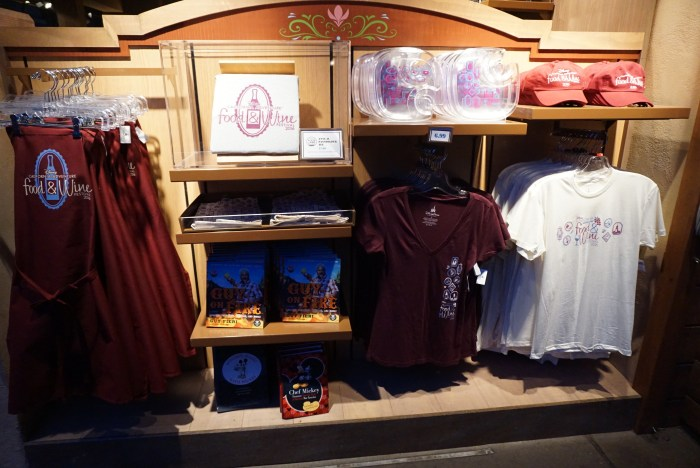 dca food & wine festival commemorative items