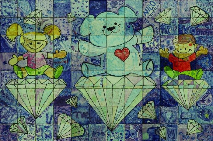 Disneyland Diamond Celebration Mural 2015