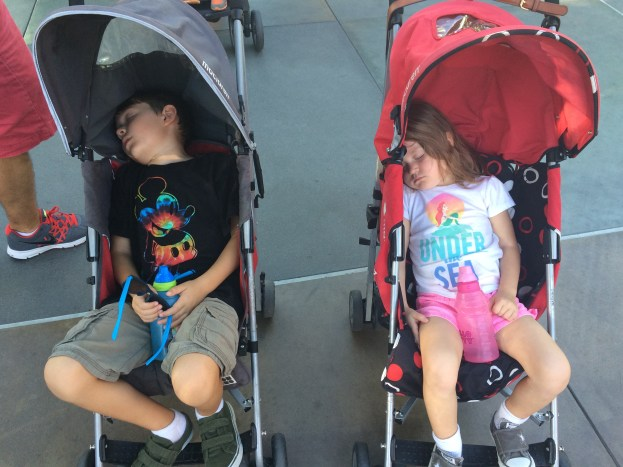 How to get your kids to nap at Disneyland.