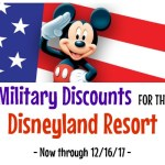Military Discount for the Disneyland Resort – 2017