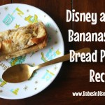 Disneyland Recipe for Bananas Foster Bread Pudding