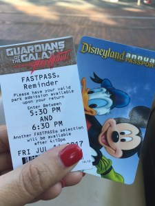 fastpass reminder ticket