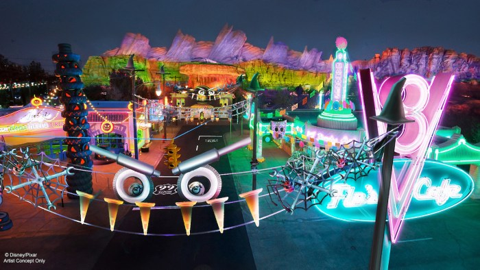 Radiator Screams Photo Courtesy of Disney Parks Blog