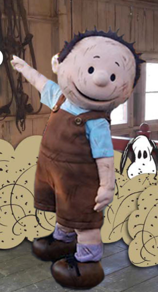 Pig Pen is an adorable addition to the regular lineup of Peanuts characters at Knott