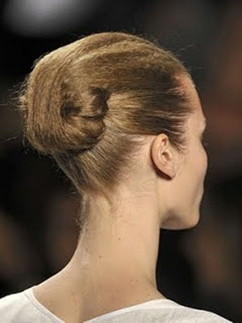 """Futuristic"" Bun Hairstyle Babes In Hairland"