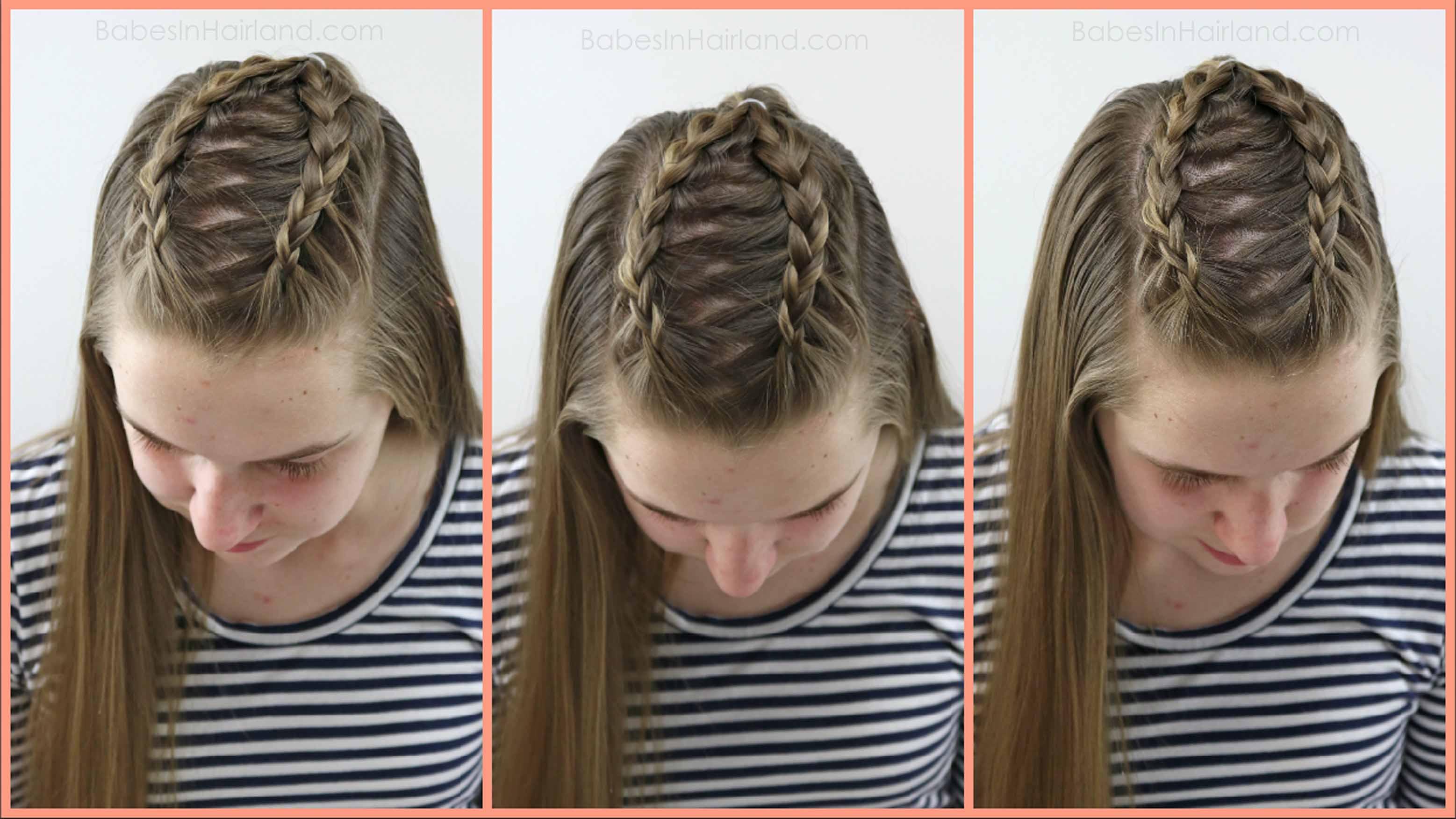 2 Dutch Braids 5 Different Hairstyles Babesinhairland Com