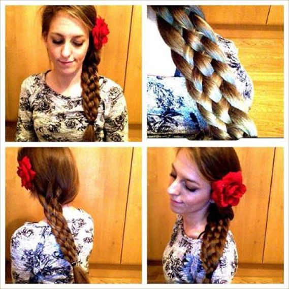 6 strand braid