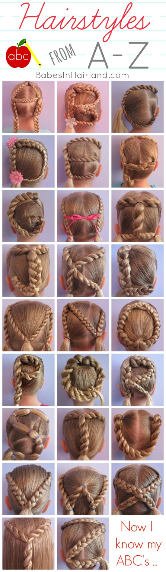 ABC Hairstyles from BabesInHairland.com