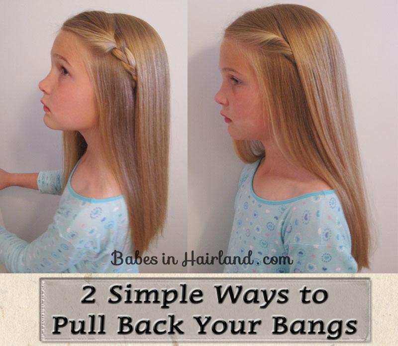ways pull bangs