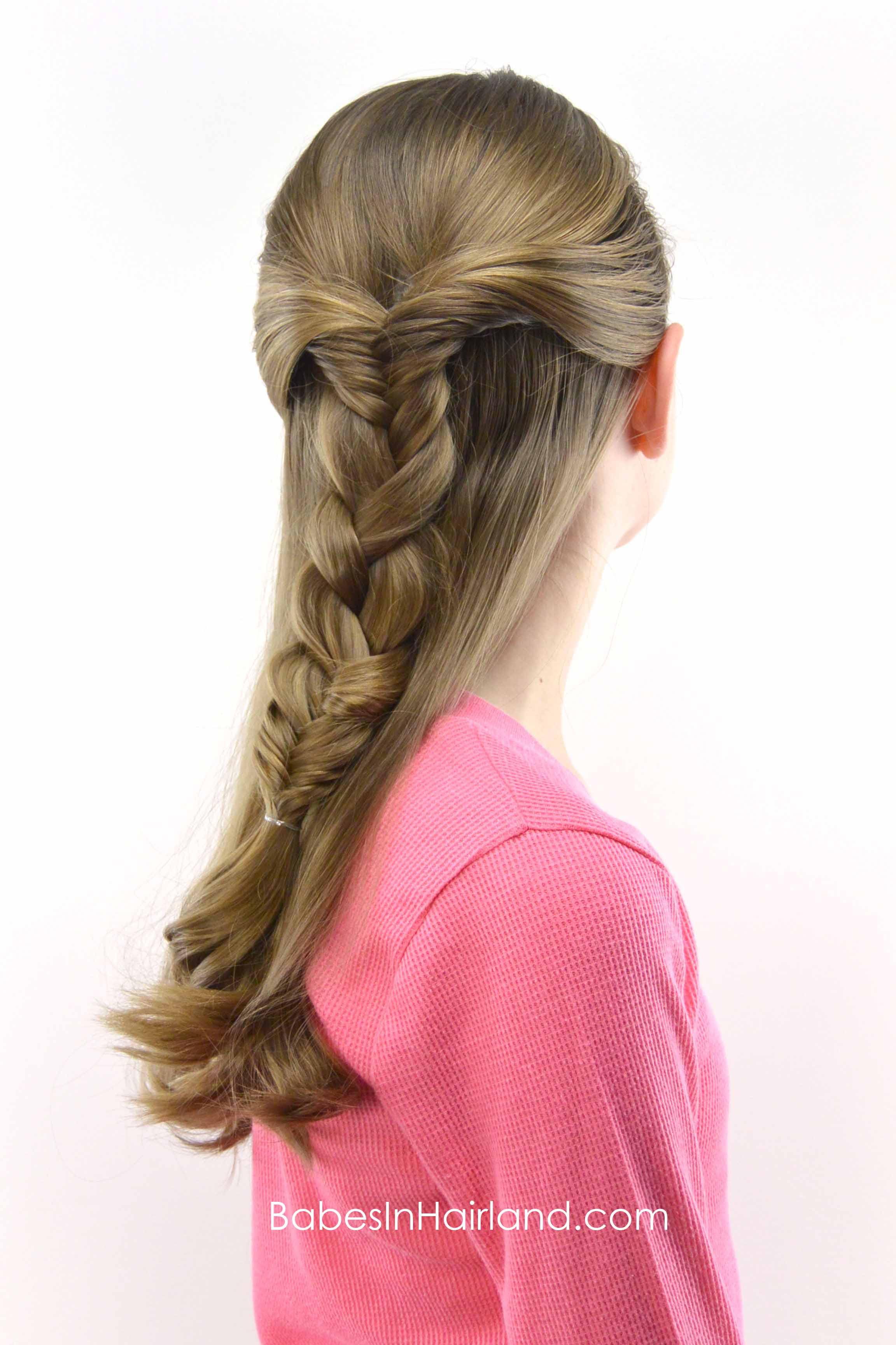 Half Up Combo Braid Babes In Hairland