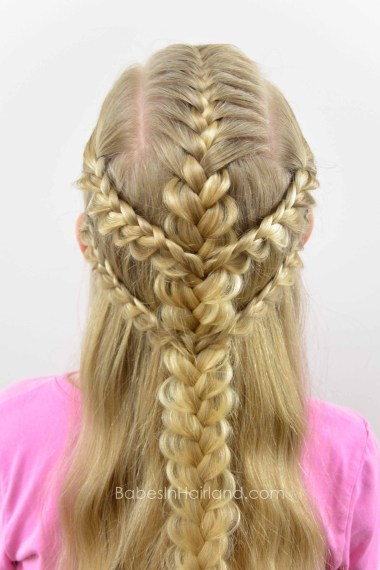 Viking Braids from BabesInHairland.com #braids #frenchbraids #hairstyle #vikingbraids #warriorprincess