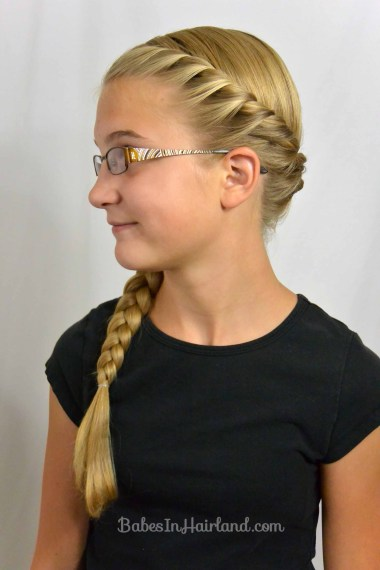 French Rope Braid & Braid from BabesInHairland.com