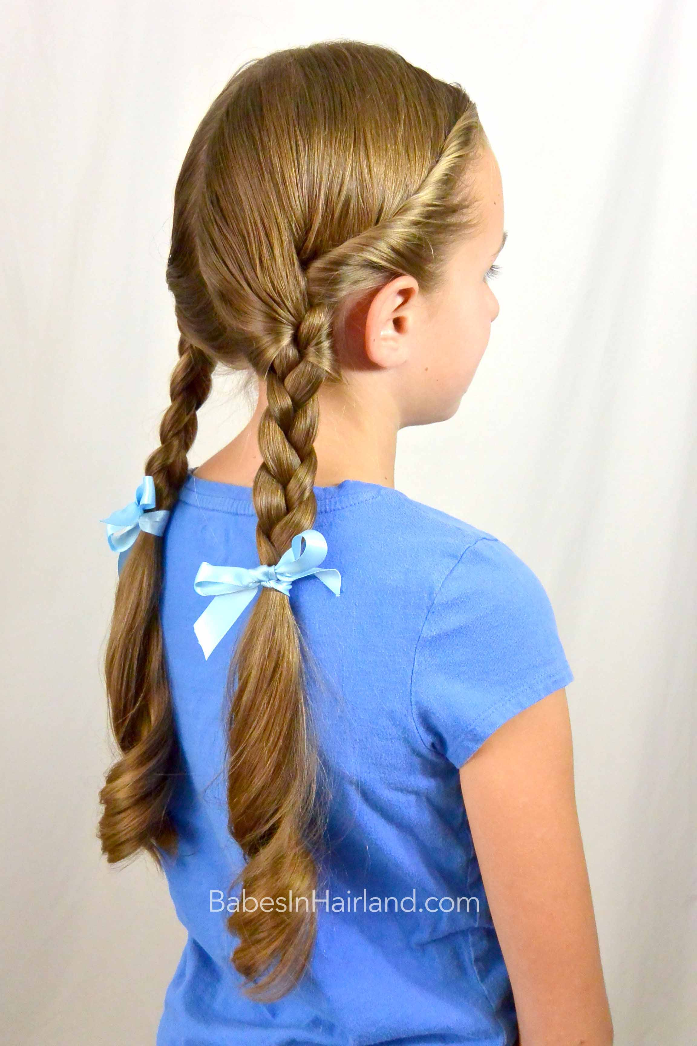 Dorothy Gale Braids | Halloween Hairstyle - Babes In Hairland
