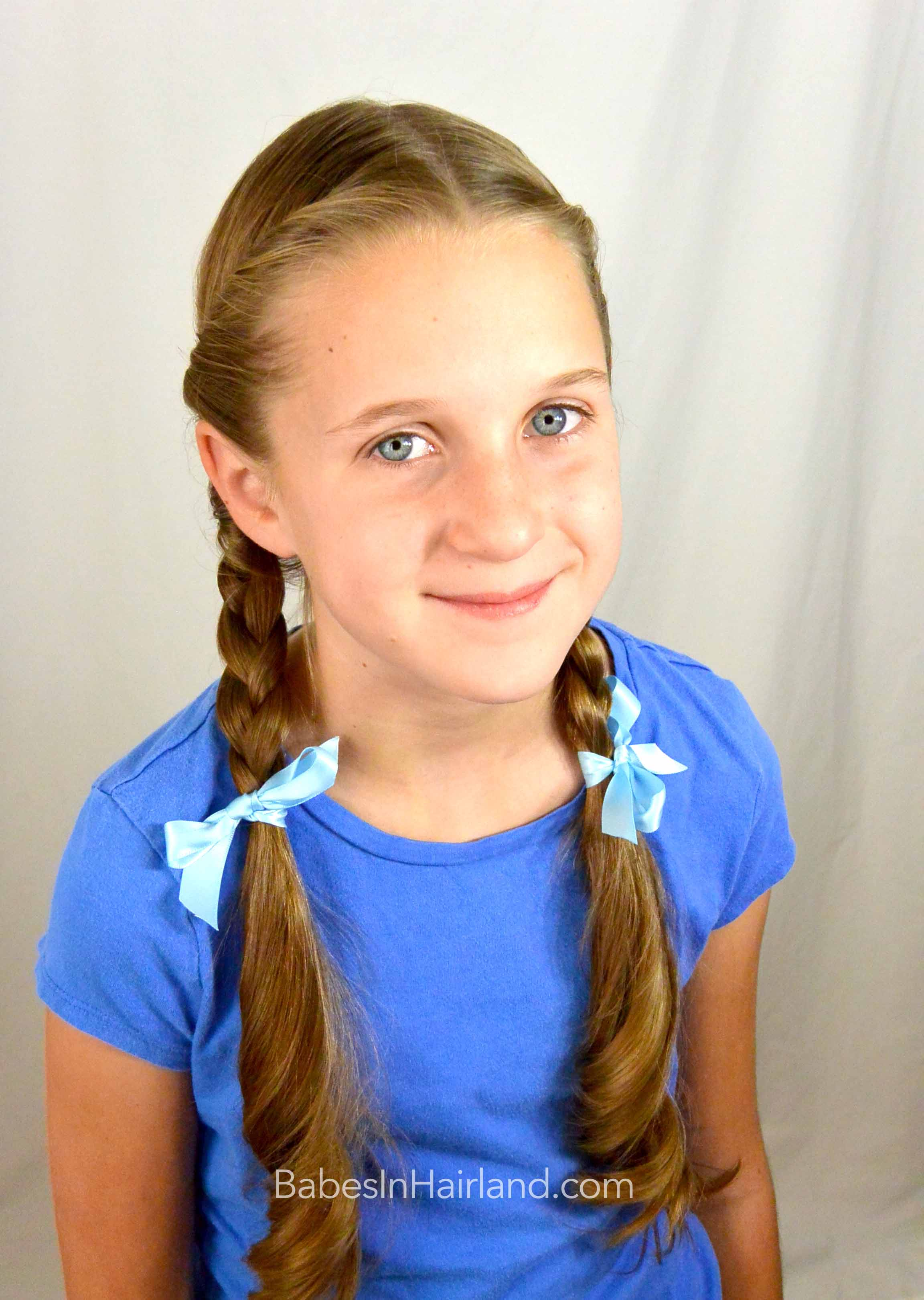 Dorothy gale braids halloween hairstyle babes in hairland for Dorothy gale