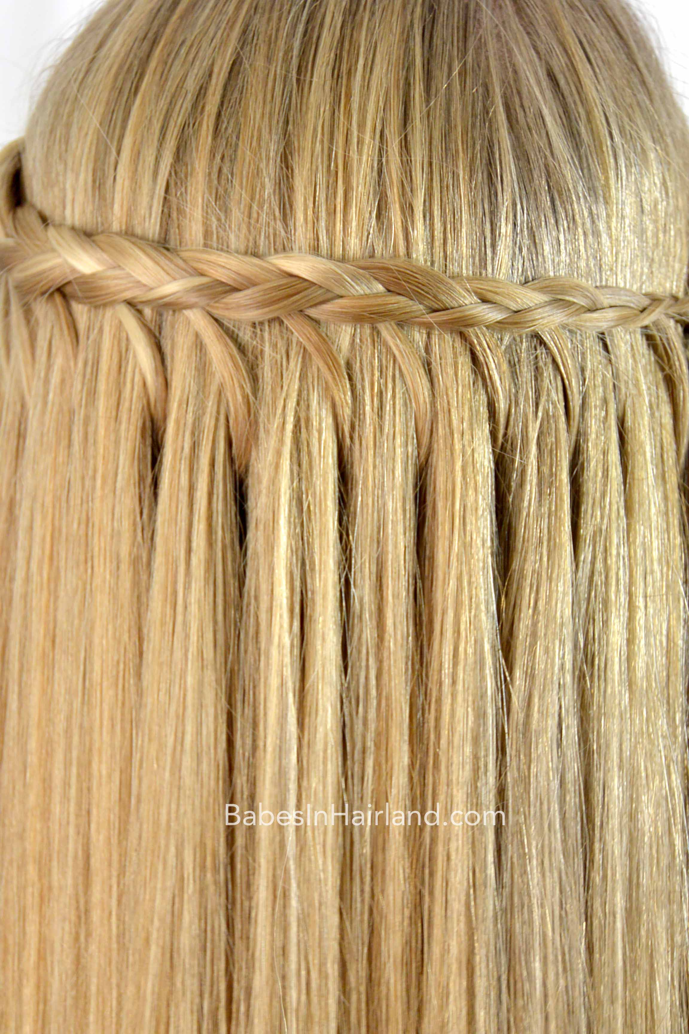 wrapping feather braid hairstyle